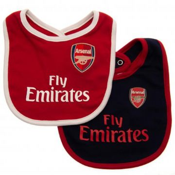 Arsenal Baby Bibs DR (Pack of 2)